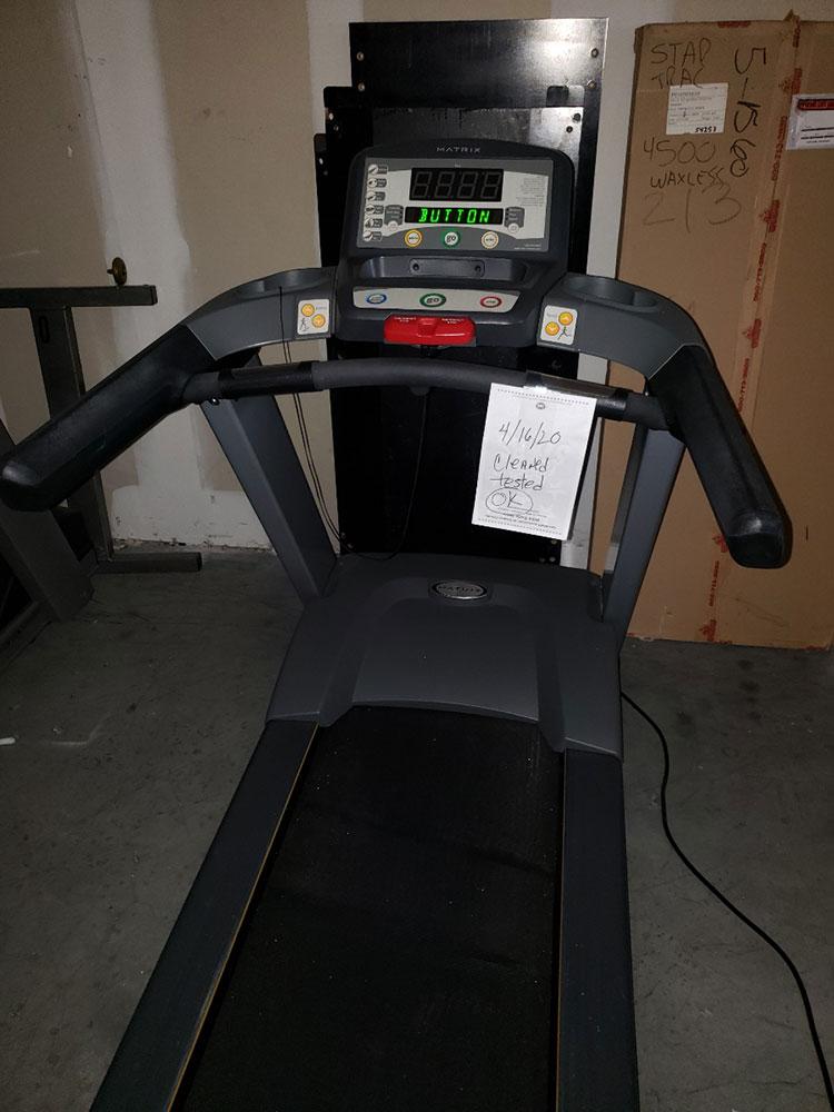 Matrix T1x Treadmill Image