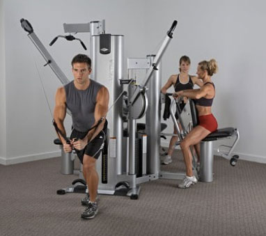 VECTRA VX-38 AND VXFT-1 (Functional Trainer) – 4 station gym Image